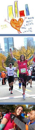 Mein Herz lacht, wenn ich laufe - Gail läuft New York Marathon